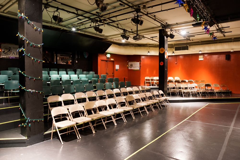 Theater Mission Cultural Center for Latin in Arts San Francisco CA, Rental Studio