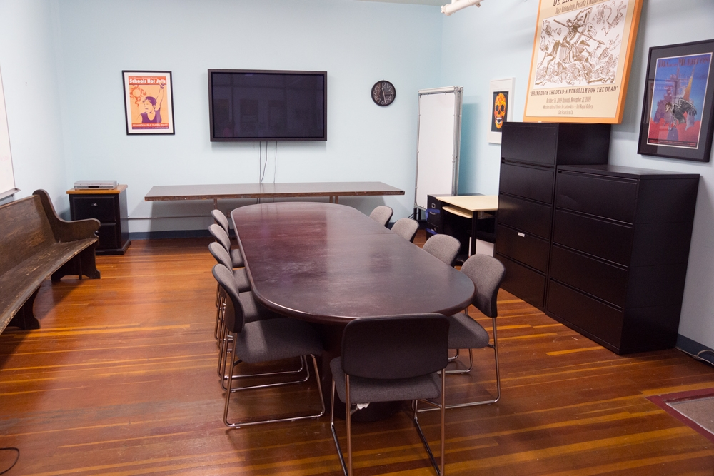 La Salita, Mission Cultural Center for Latin in Arts San Francisco CA, Rental Studio