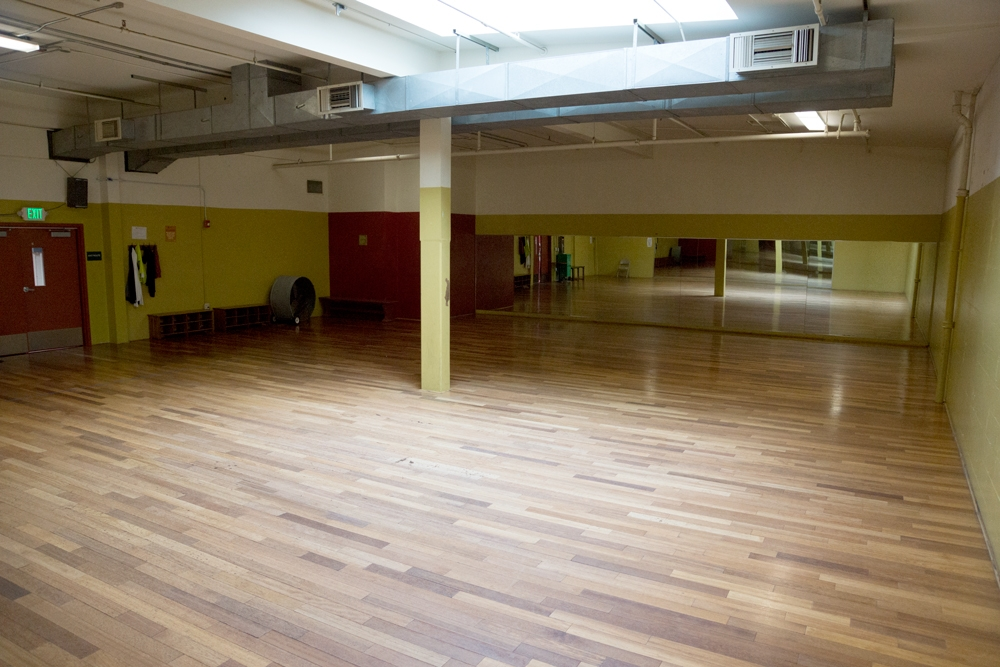 Studio B Mission Cultural Center for Latin in Arts San Francisco CA, Rental Studio