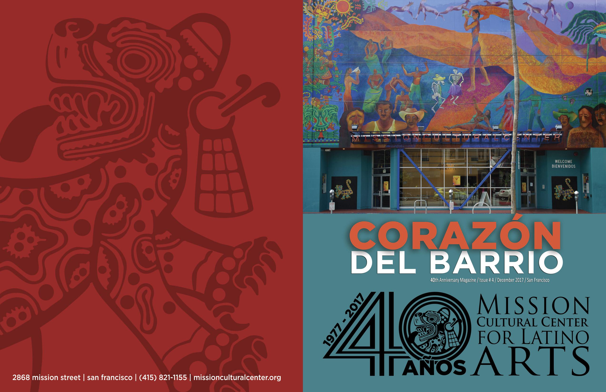 MCCLA Magazine Cover: Corazon Del Barrio 40 Años