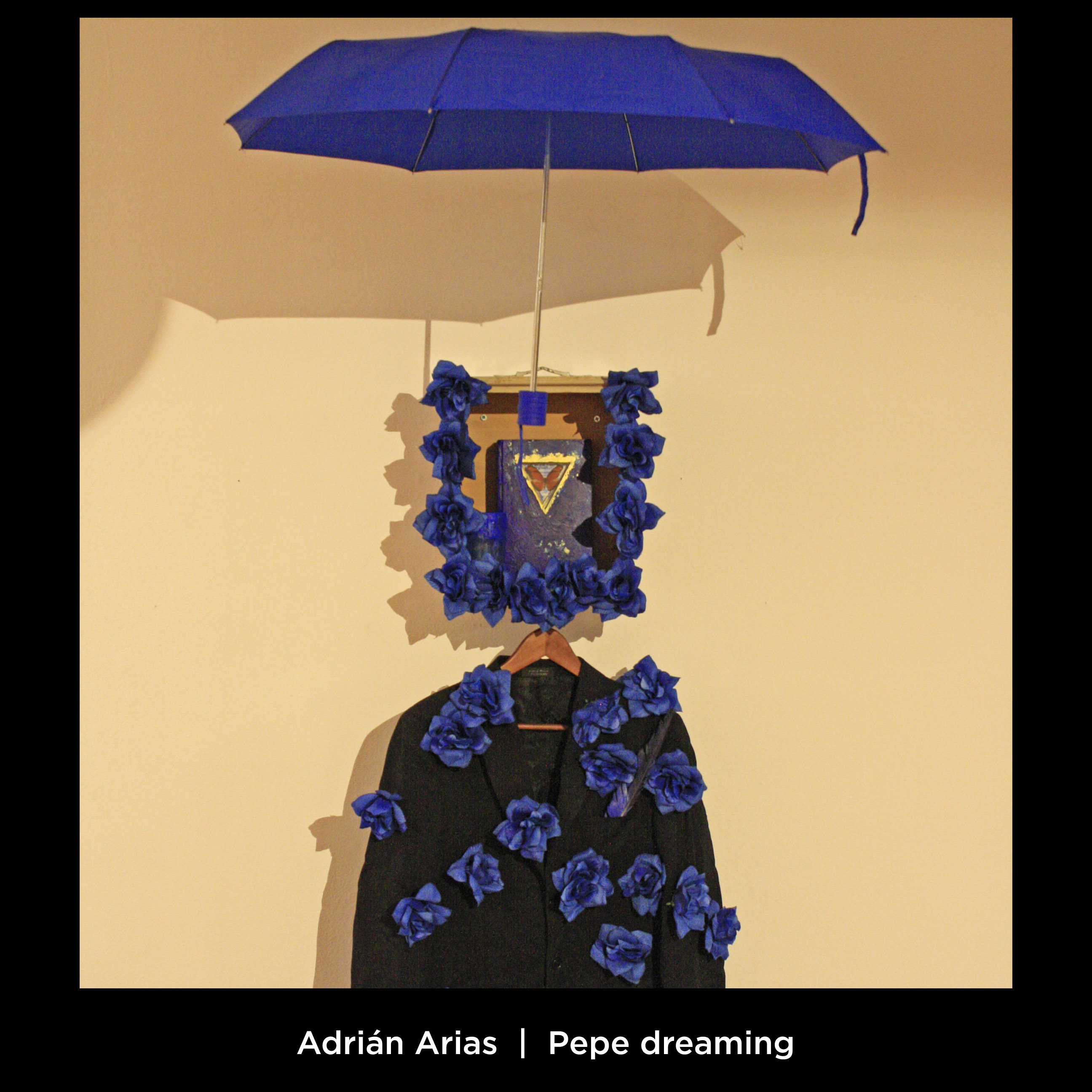 Adrián Arias: Pepe dreaming. Altar-installation honoring the memory of Argentinian visual artist-provocateur Pepe Ozan. One of the most influencial artists in the installations at Burning Man in the past two decades.