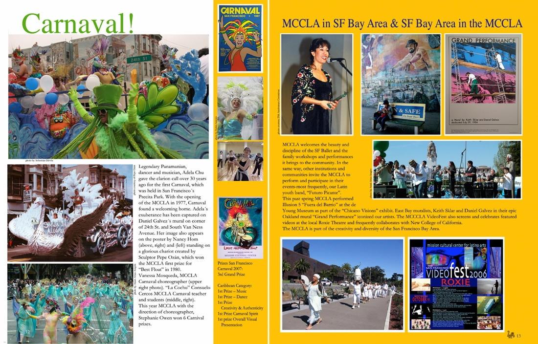 MCCLA Magazine 30th Anniversary Pages 14-15