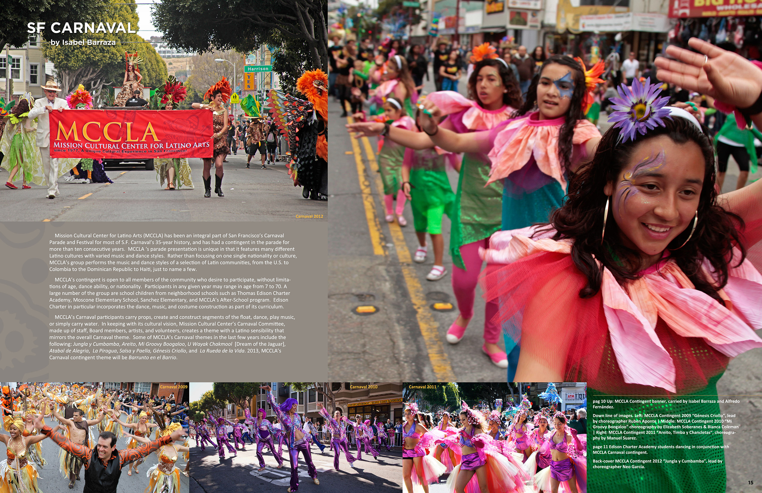 MCCLA Magazine 35th Anniversary Pages 14-15