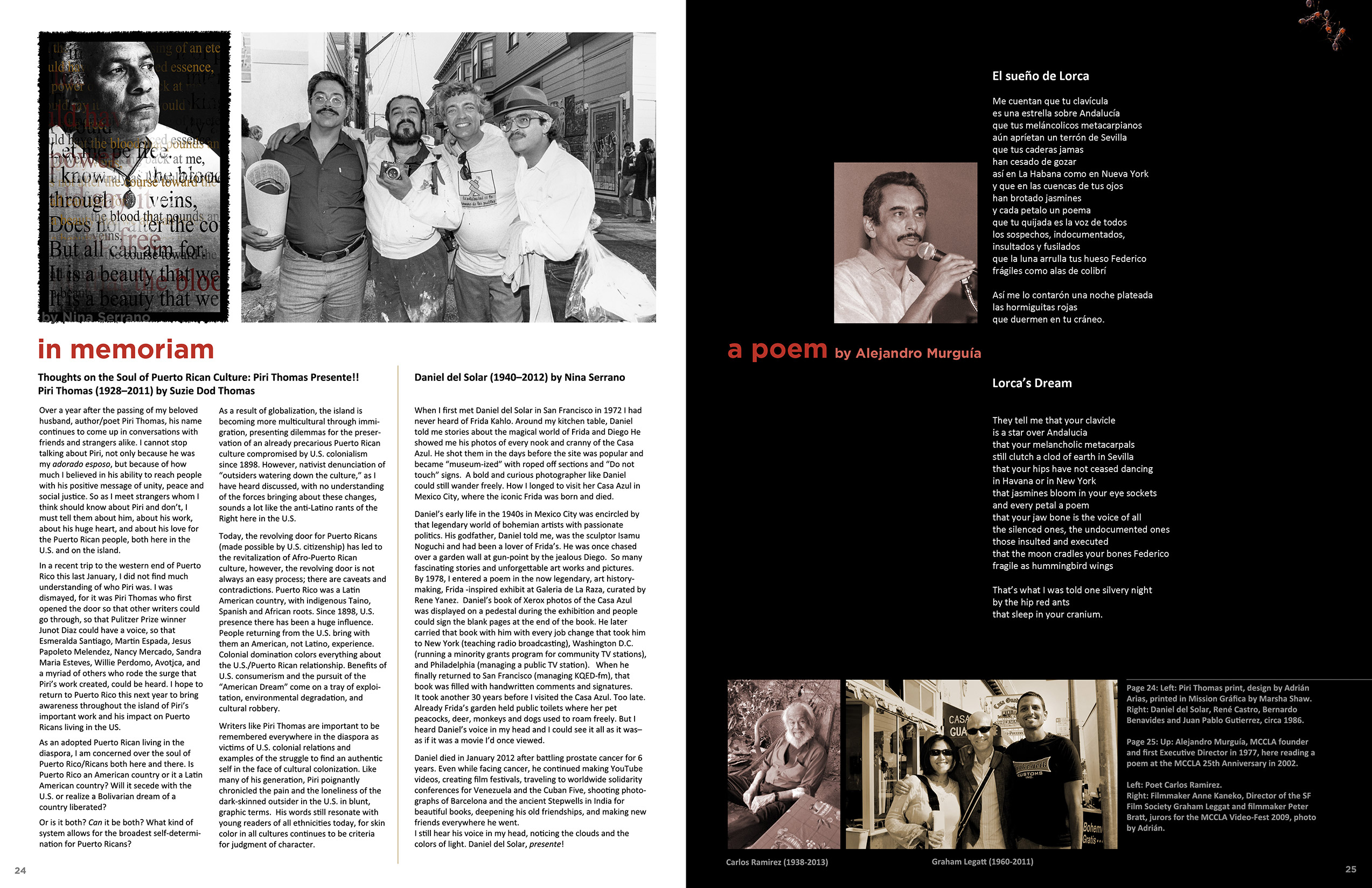 MCCLA Magazine 35th Anniversary Pages 24-25