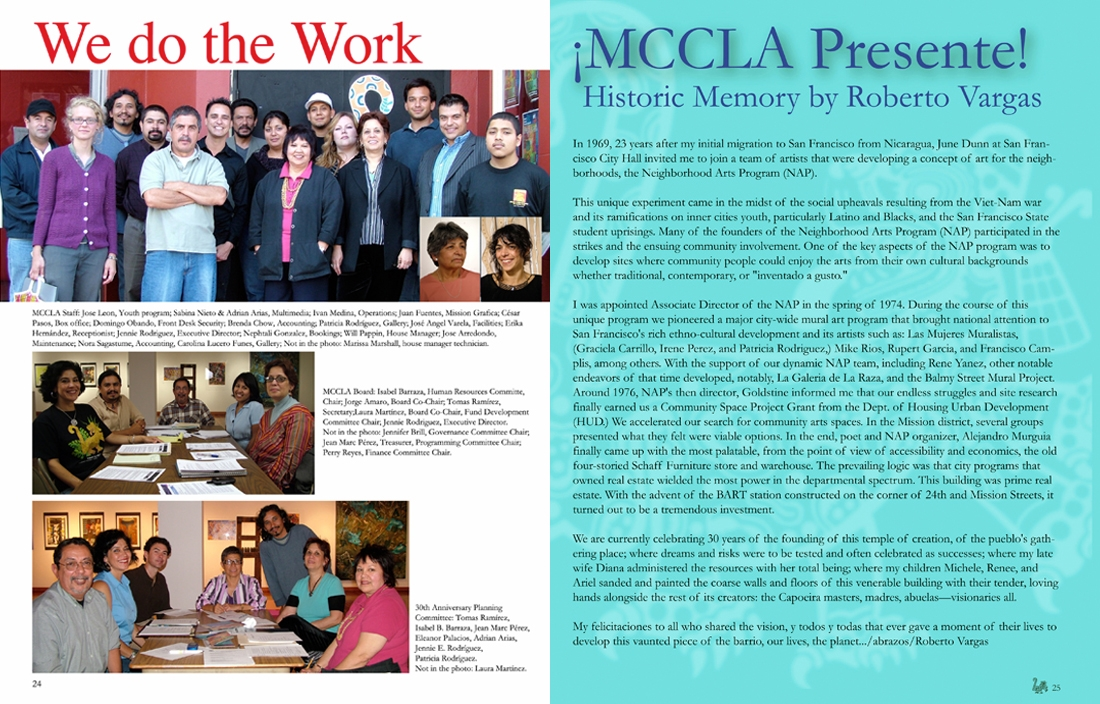 MCCLA Magazine 30th Anniversary Pages 26-27