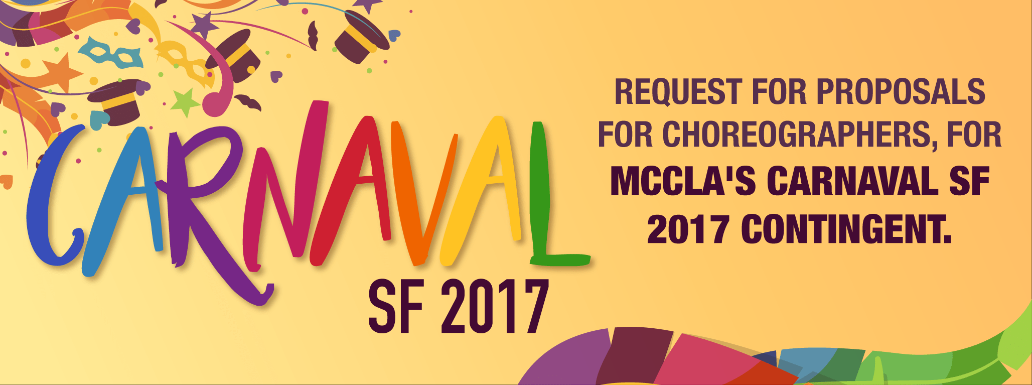 Request for Choreographer Proposals