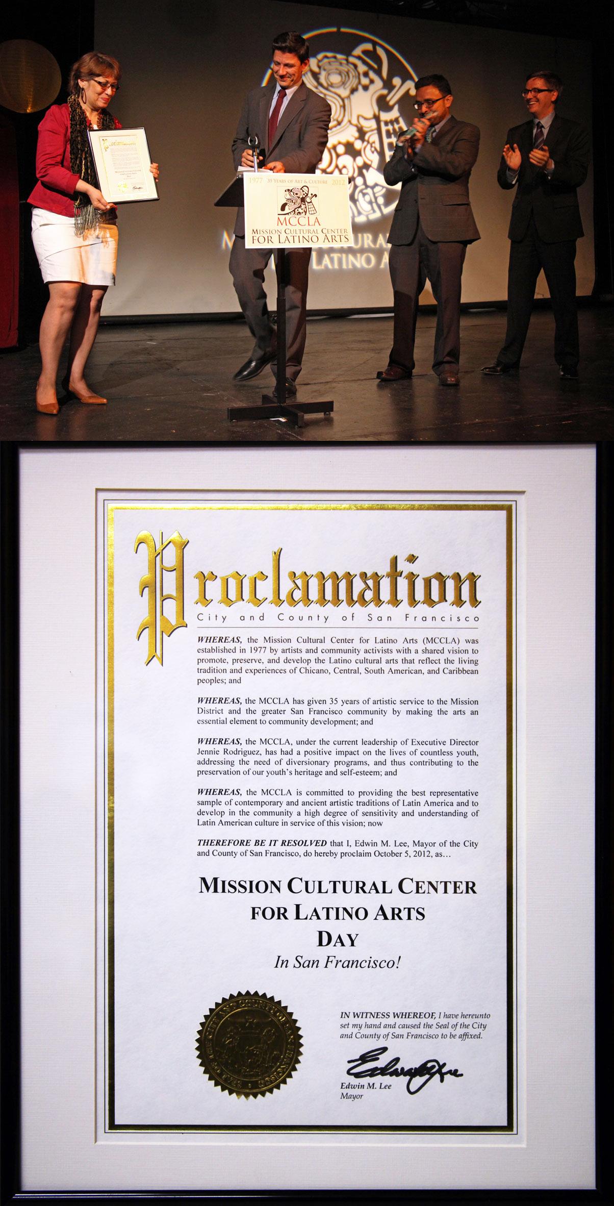 MCCLA Mayor Proclamation