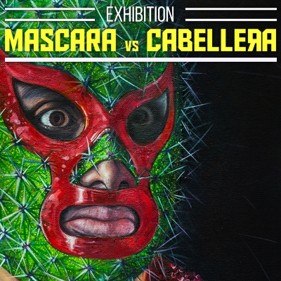 Mascara Vs Cabellera Exhibition