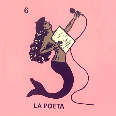 Featured Print: La Poeta