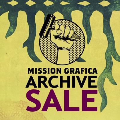 Mission Grafica Archive Sale