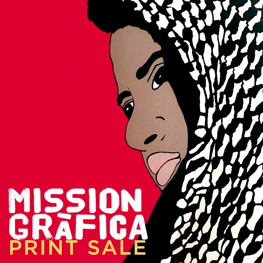 Mission Grafica Print Sale