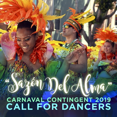 Sazon Del Alma Carnaval Contingent 2019 Call for Dancers