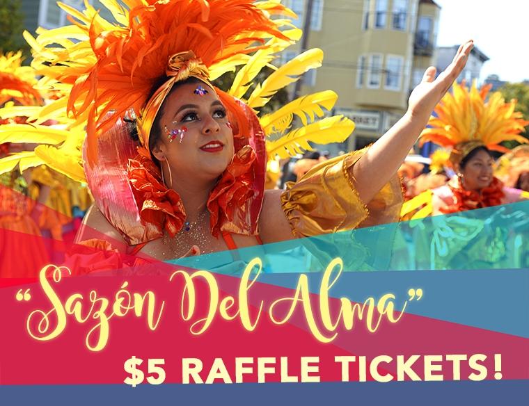 Sazón Del Alma $5 Raffle Tickets