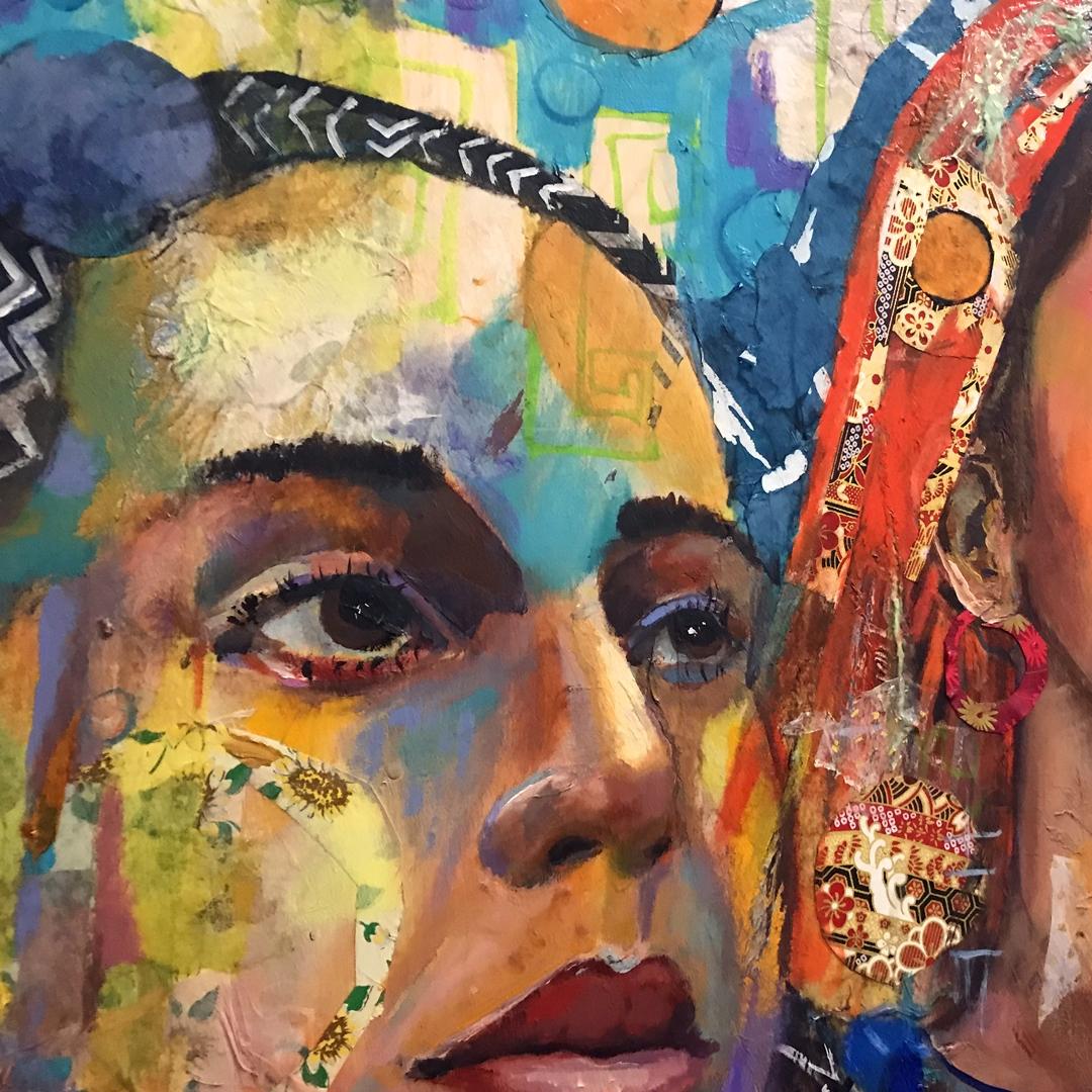 Rostros de Mujer - Art by Roberto Marosi