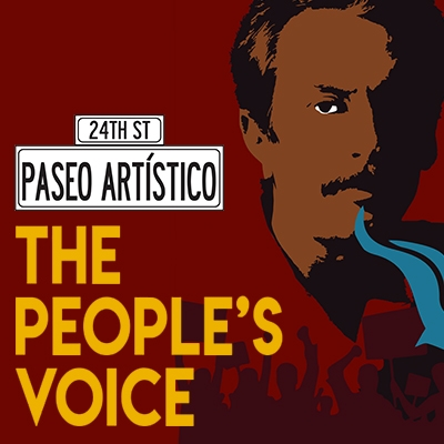 Paseo Artístico The People's Voice