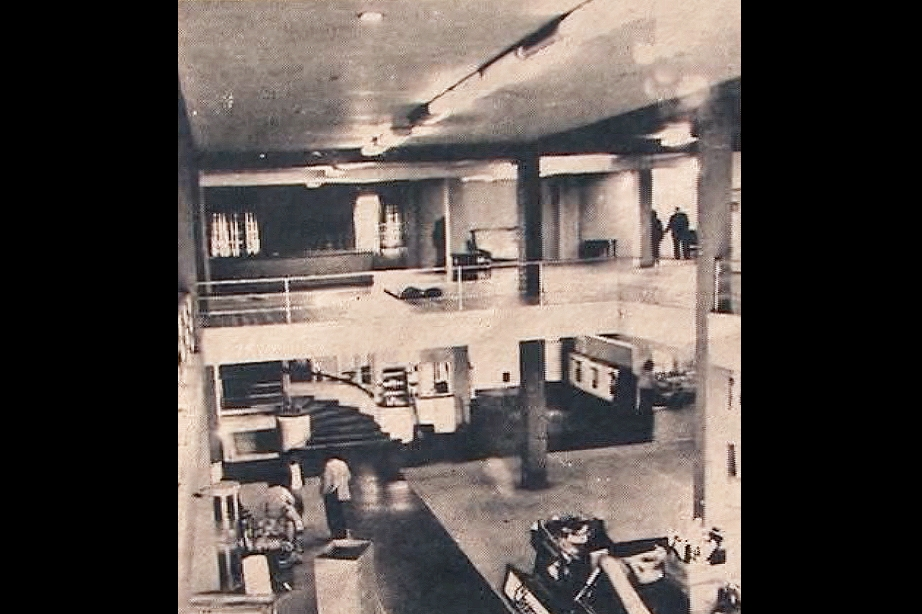 MCCLA's Theater and Gallery in 1977
