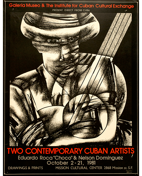Print 117 - Two Contemporary Cuban Artists - Mission Grafica - 1981