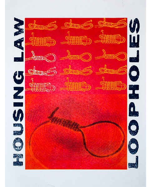 Print 1609 - Housing Law Loopholes - L. Buckland - 2001