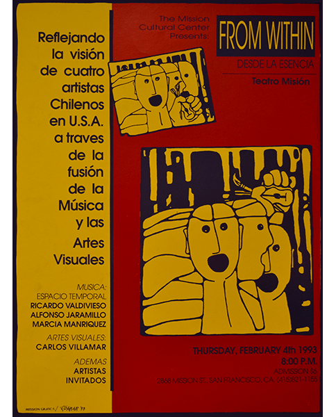 Print 445 - From Within, Desde la Esencia - Villamar, Mission Grafica - 1993
