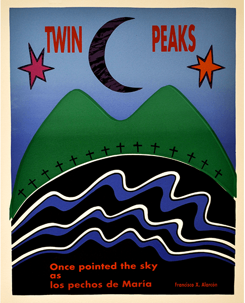 Print 531 - Twin Peaks / Francisco X. Alcarón - Castro, Mission Grafica - 1993