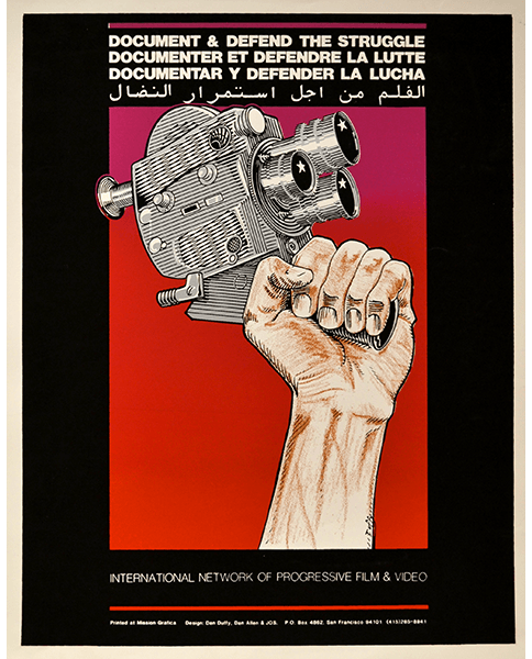 Print 746 - Document and Defend the Struggle - Dan Duffy, Dan Allen, Jos Sances, Mission Grafica - 1993