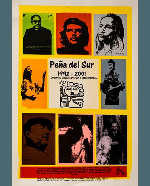 Print 924 - Peña del Sur - Gato, Mission Grafica - 2001