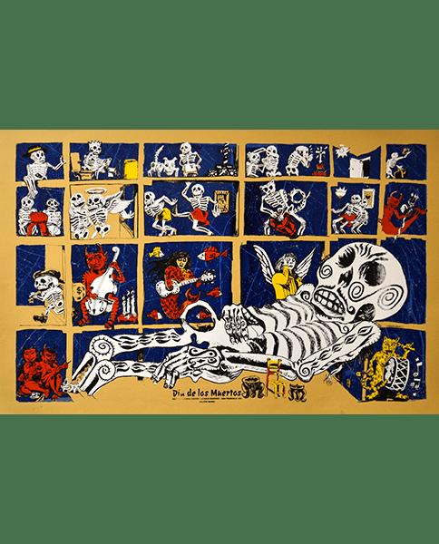 Print 979 - Dia de los Muertos - Michael Roman - 1994