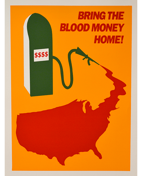 Print A185 - Bring the Blood Money Home - UNK