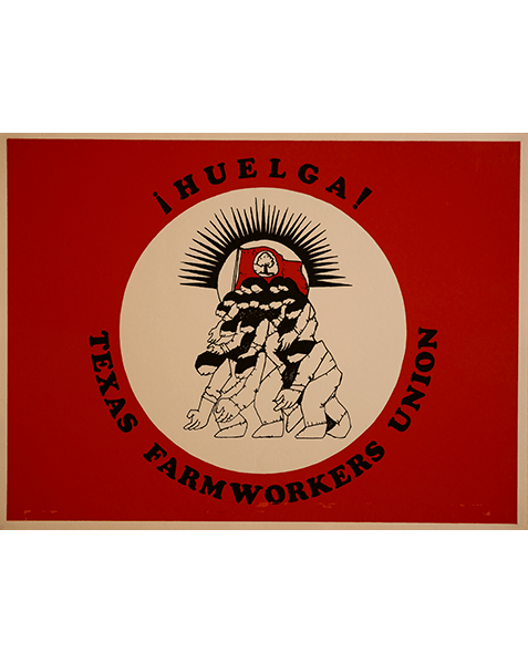 Print LR170 - Huelga Texas Farm Workers