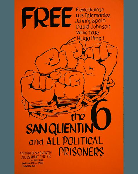 Print LR301 - Free the San Quentin 6