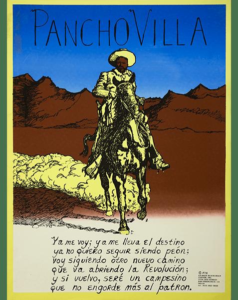 Print LR321a - Pancho Villa