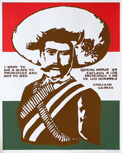 Print LR32a - Emiliano Zapata