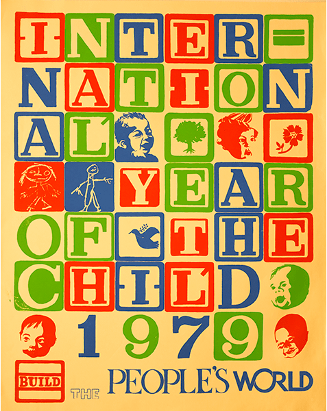 Print LR481 - International Year of the Child 1979