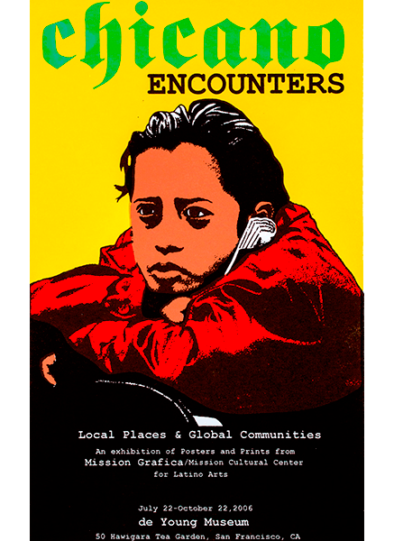 Chicano Encounters - Print by Juan Fuentes