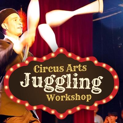Circus Arts Juggling Workshop