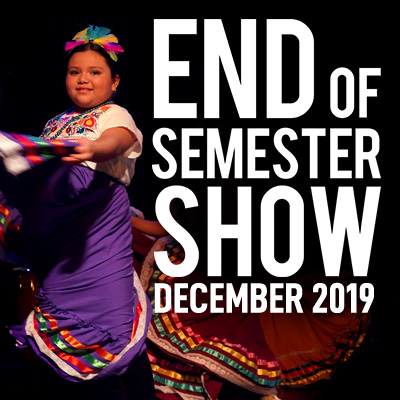 End of Semester Show December 2019