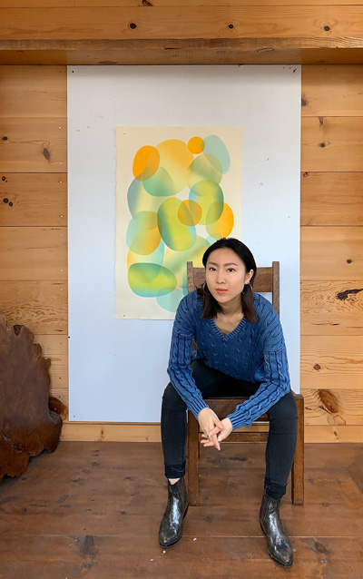 Erin Zhao, Mission Gráfica Resident Artist