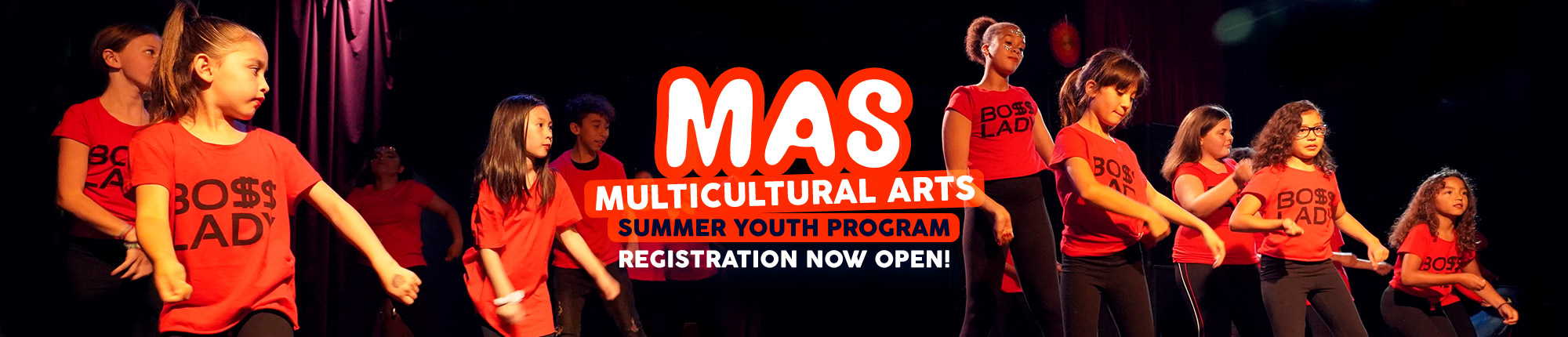 MAS: Multicultural Arts Summer Youth Program Registration Now Open!