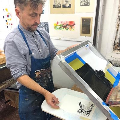 Anthony Ryan, Mission Gráfica Instructor
