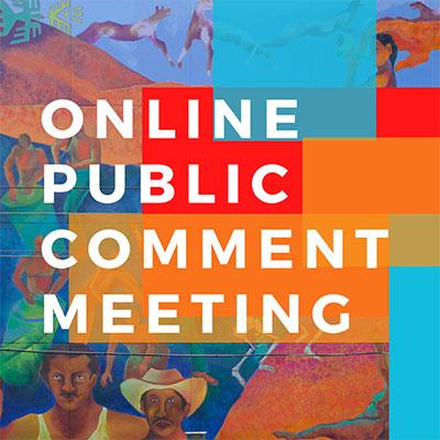 Online Public Comment Meeting