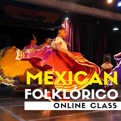 Mexican Folklórico Online Class
