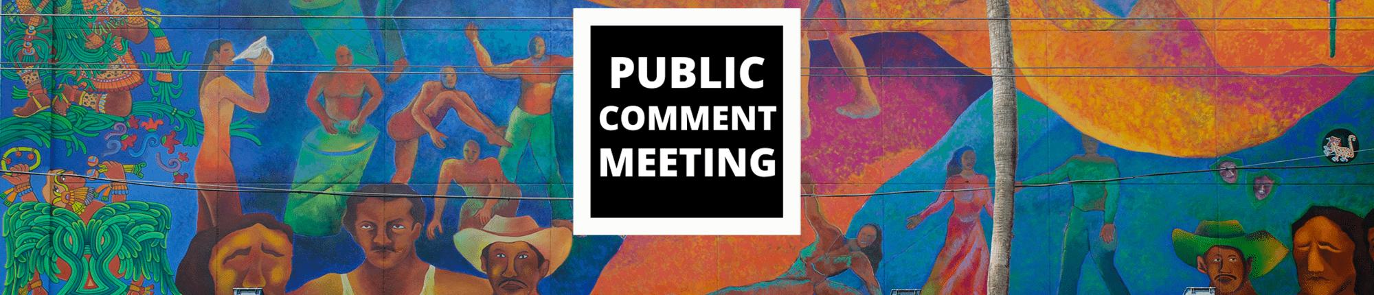 Public Comment Meeting