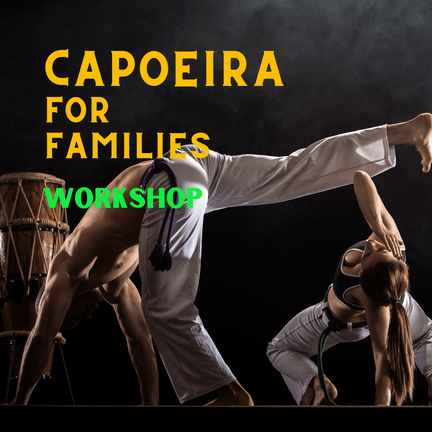 Capoeira For Families Workshop